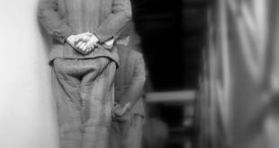 Vác, 1964. április 14.Rabok a váci börtön folyosóján.MTI Fotó: Bara István
