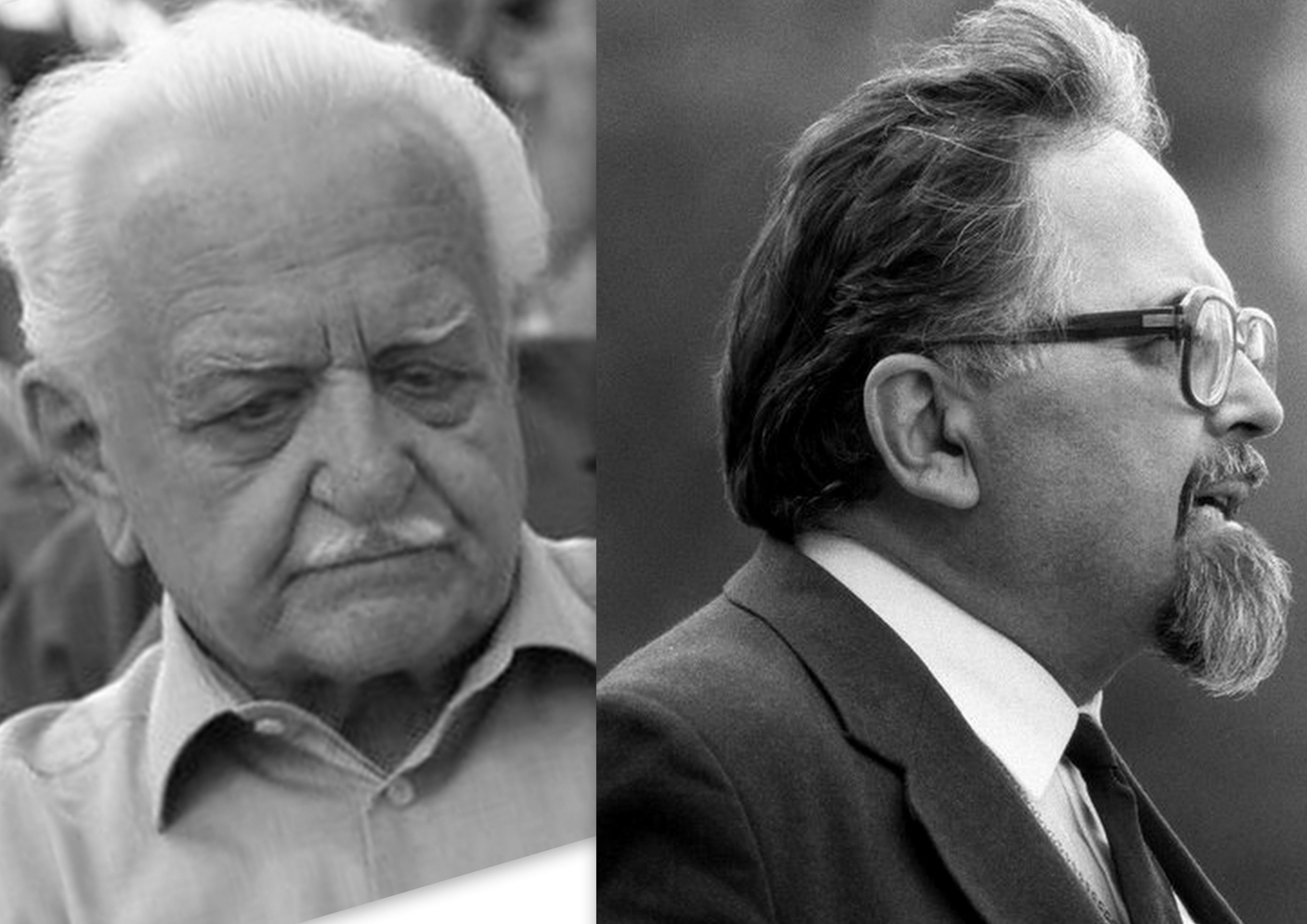 Már nem ülhetnek egy asztalhoz: Regéczy-Nagy László és Mécs Imre / Fotó: MTI
