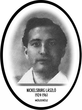 Nickelsburg László / Fotó: Mek.oszk.hu