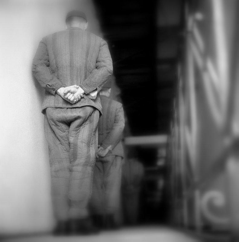 """""""Számok"""" - rabok a váci börtönben (1964) / Fotó: MTI"""